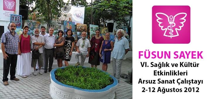 Arsuz Sanat Çalıştayı 2-12 Ağustos 2012